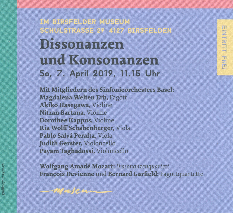 Konzert im Museum
