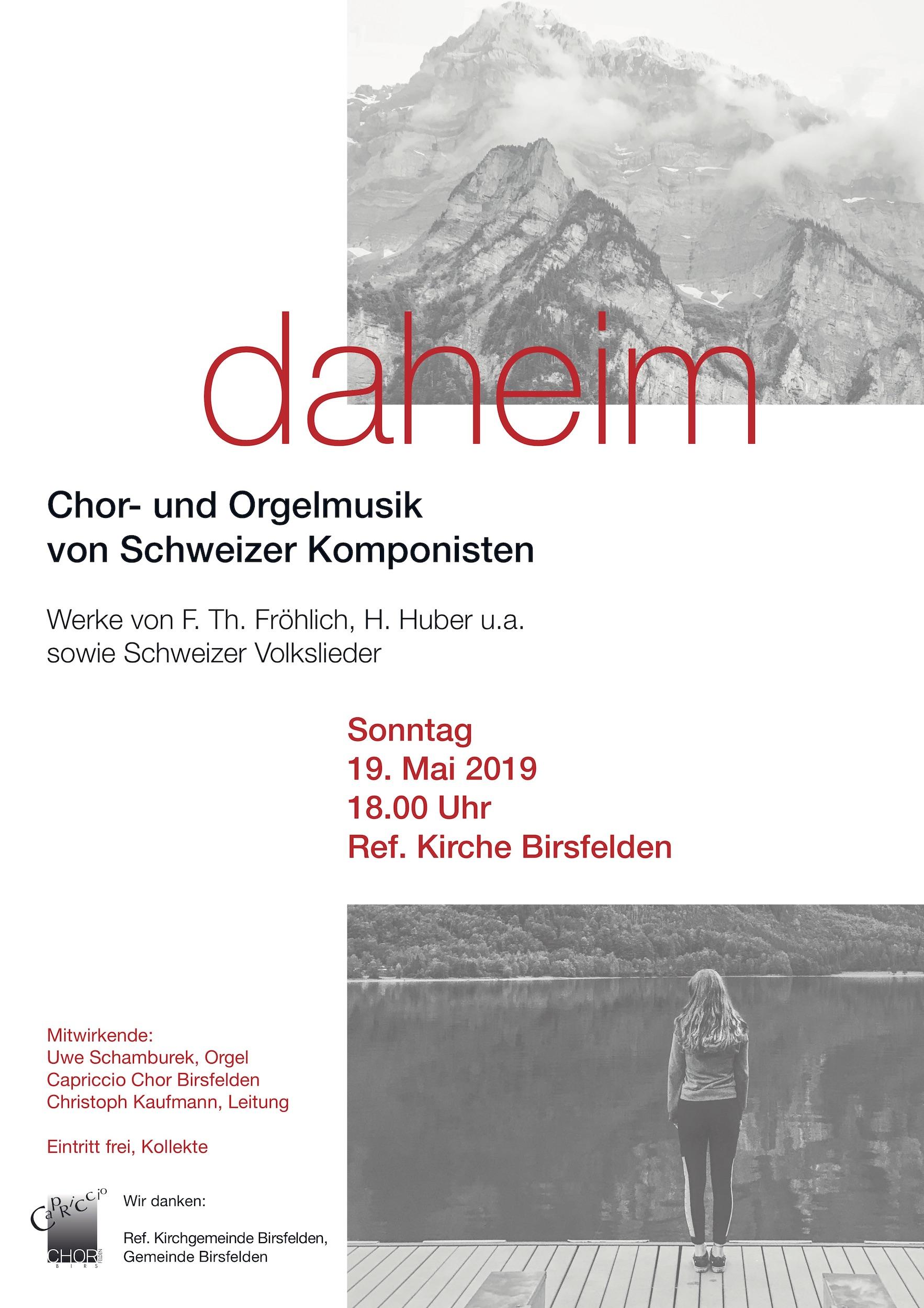Konzert: daheim