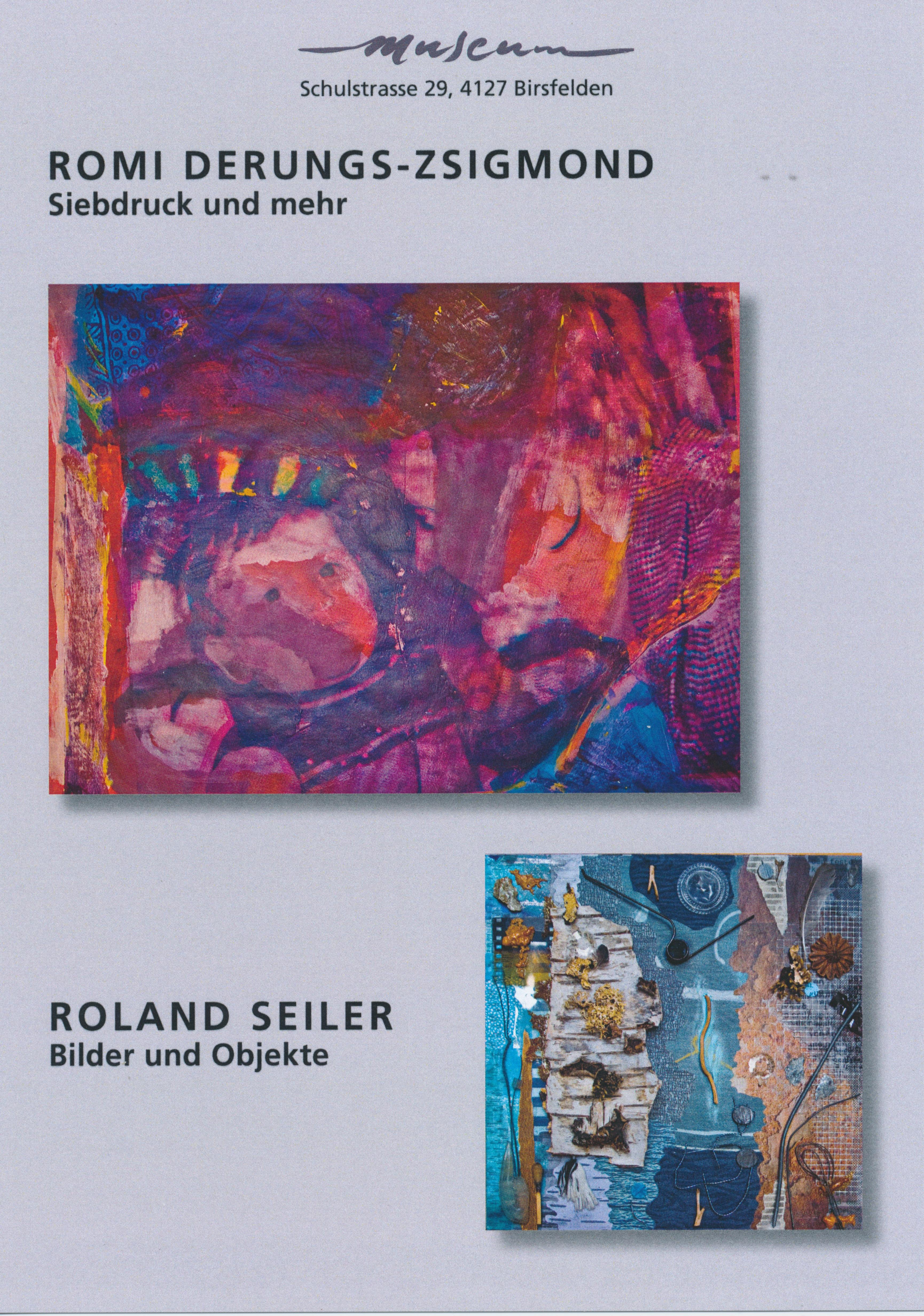Ausstellung: Derungs & Seiler