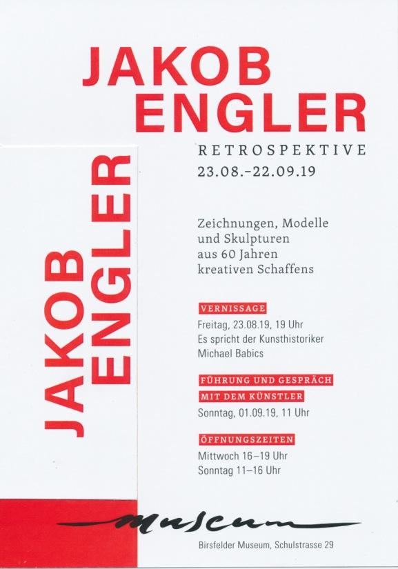 60 Jahre Jakob Engler