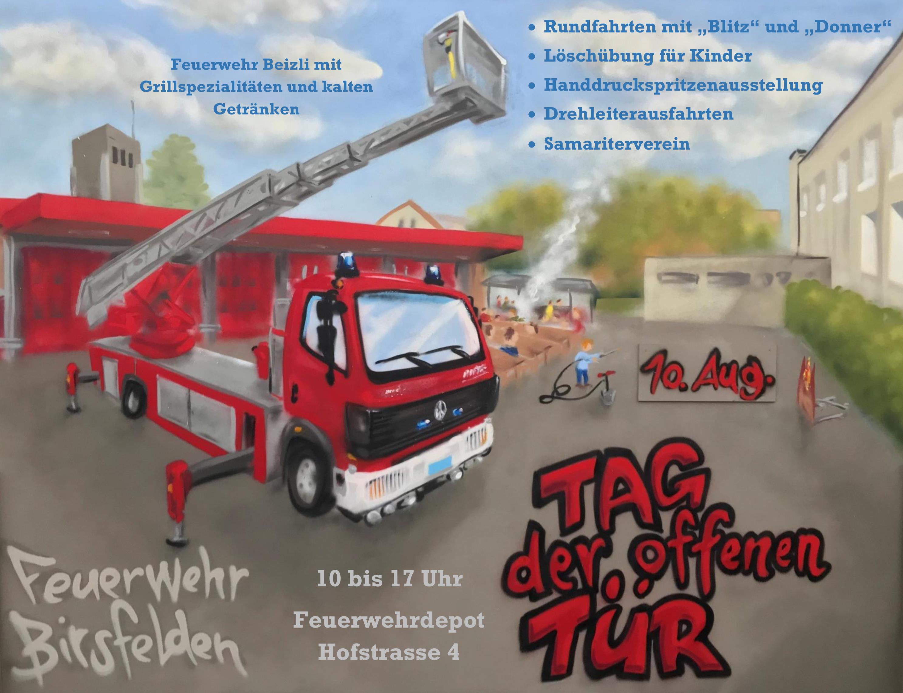 Feuerwehr Birsfelden – Tag der offenen Tür